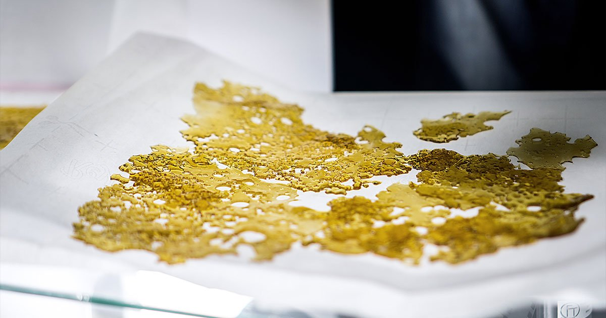 Gold Cannabis BHO Extract